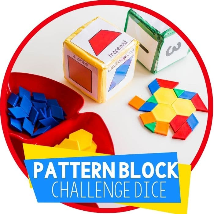 Free Pattern Block Printables for Easy, Low-Prep Math