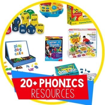 phonics tools and resources shop featured image