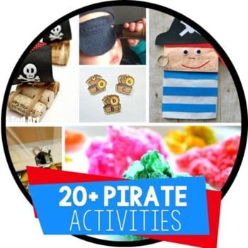 pirate theme activities featured image