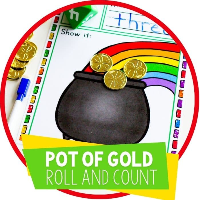 pot of gold st patricks day roll and count featured image