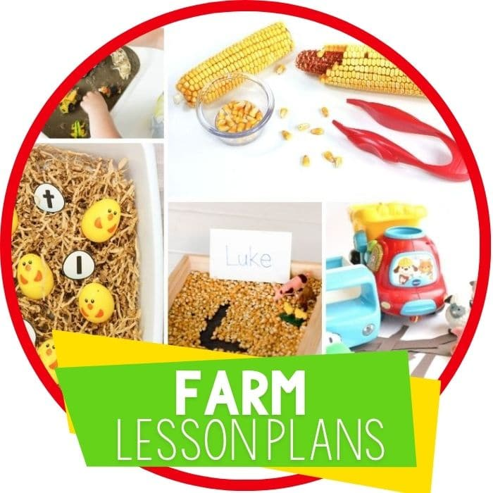Easy to Use Farm Lesson Plans for Preschool