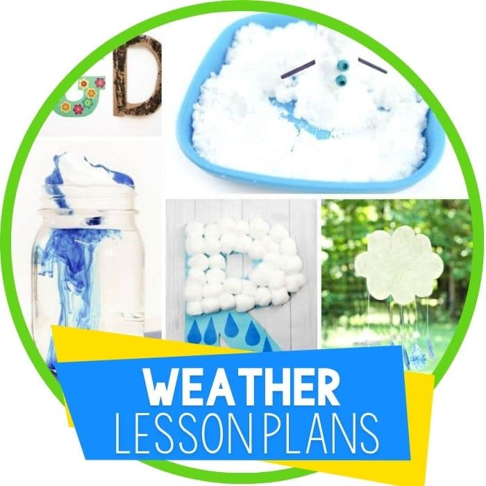 Weather Lesson Plans for Preschool