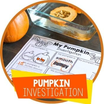 pumpkin STEm investigation and printable featured image