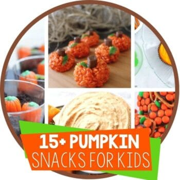 15+ pumpkin theme snacks for kids Featured Image