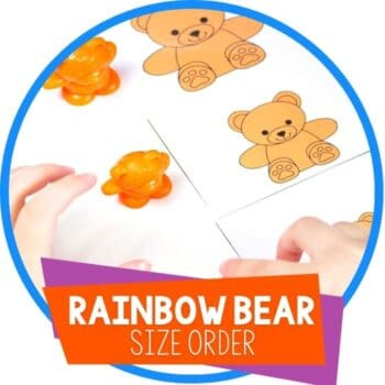rainbow bear size order matching cards featured image