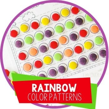 rainbow color patterns with candy featured image
