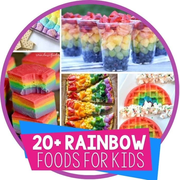 Rainbow Themed Foods Kids Will Love