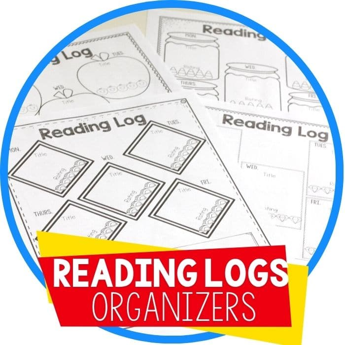 reading logs worksheets featured image