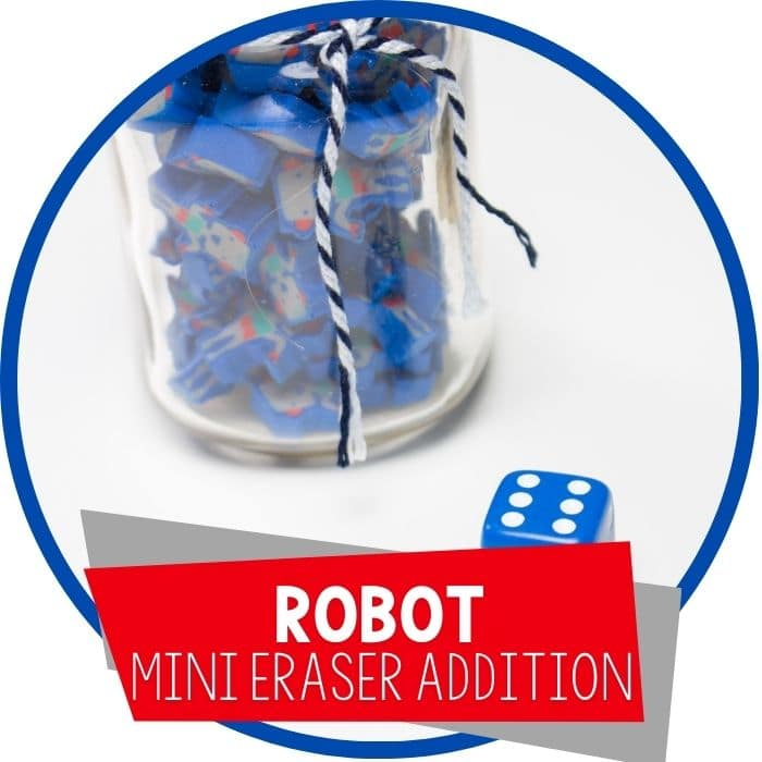 robot mini eraser fill the jar featured image