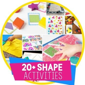 shape activities round up featured image