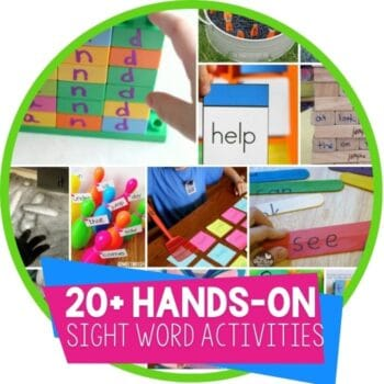 sight word activities Featured Image