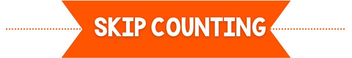 skip counting banner image