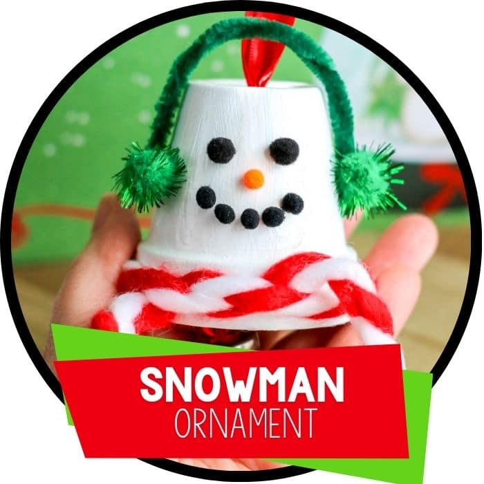 How To Make A Terracotta Pot Snowman Ornament