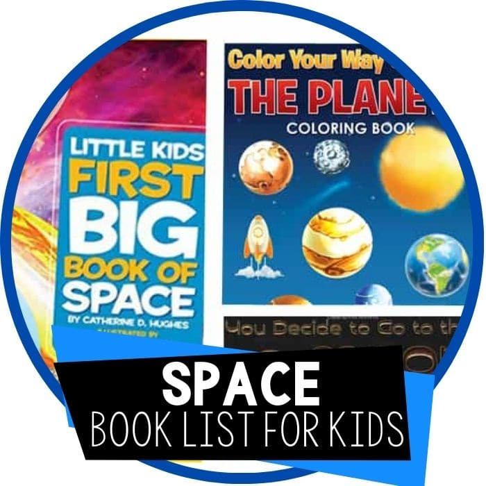 25+ Awesome Outer Space Books for Kids
