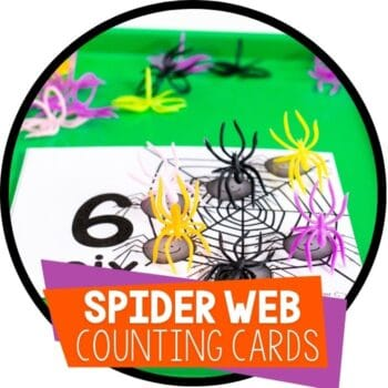 spider web counting cards with spider rings for counters Featured Image