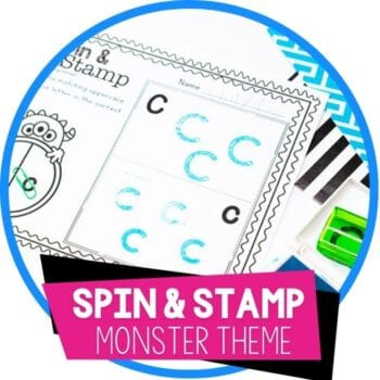 monster theme alphabet stamping activity featured image