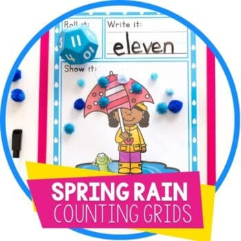spring rain roll and count featured image