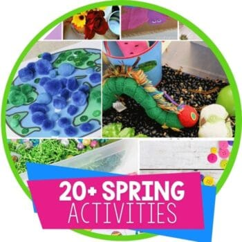 spring theme activities featured image