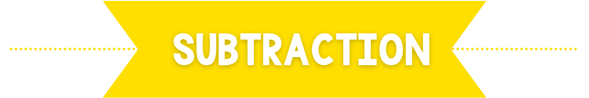 subtraction banner image