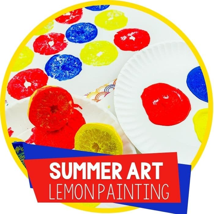 summer lemon painting prints featured image