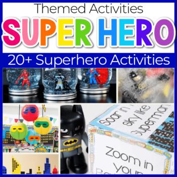 superhero theme activities for kids