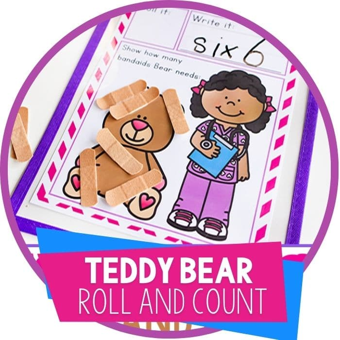 teddy bear roll and count featured image