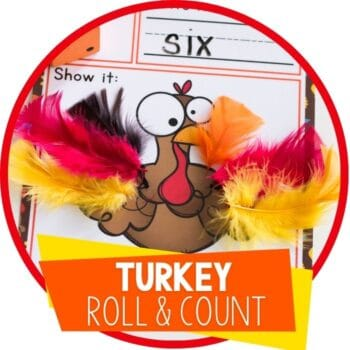 turkey feather roll and count featured image
