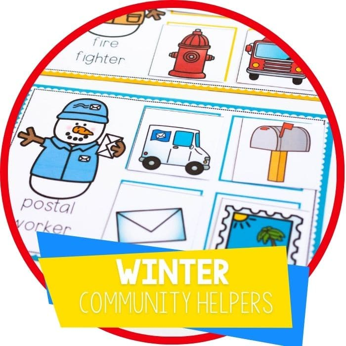 Winter Community Helpers Activities for Preschool