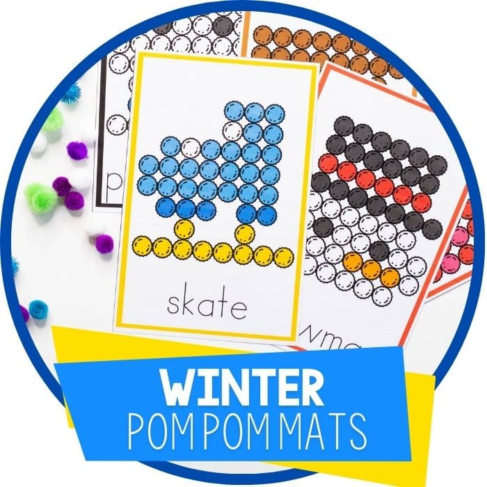 Winter Fine Motor Activity for Preschoolers