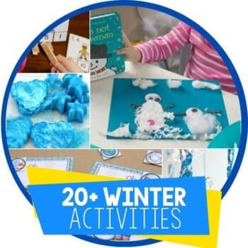 winter theme activities featured image