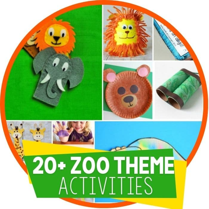 zoo theme activities round up Featured Image