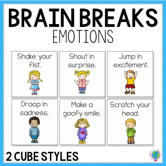 Brain Break Emotions Cover