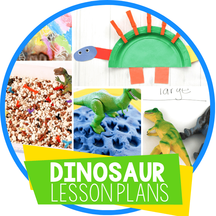 Dinosaur Lesson Plan Featured Image