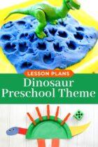 Preschool Dinosaur Theme Lesson Plans