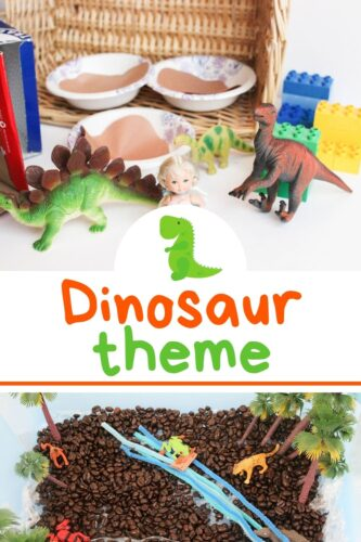 Dinosaur Theme Lesson Plans for Kids