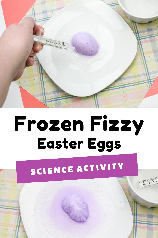 Frozen Fizzy Easter Eggs