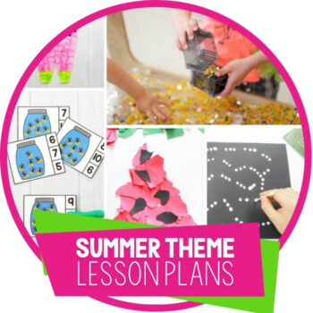 Fun Summer Lesson Plans for Preschool Featured Image