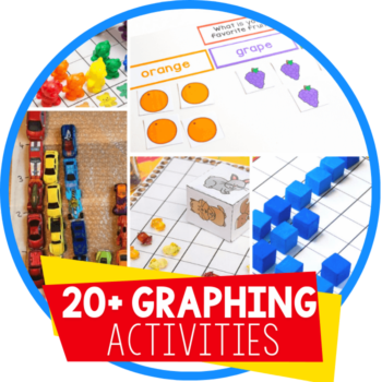 Graphing Activities for kindergarten and preschool Featured Image