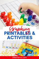 15+ graphing activities and printables for kindergarten math centers