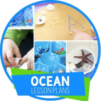 Ocean Theme Preschool Lesson Plans Featured Image