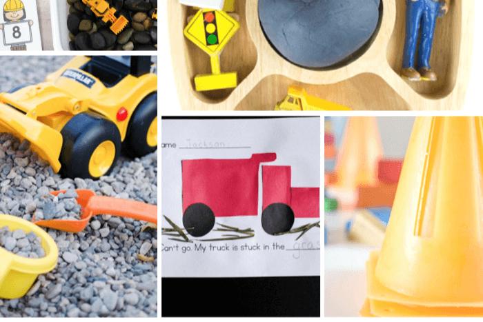 Ideas for construction preschool lessons