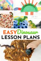 Easy Dinosaur Lesson Plans