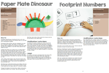 dinosaur lesson plans sample1