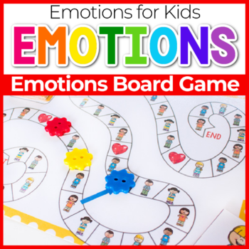 Emotions Board Game Featured Image