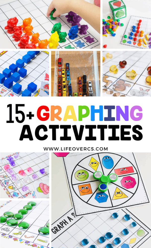 graphing activities pin for kindergarten graphing math lessons