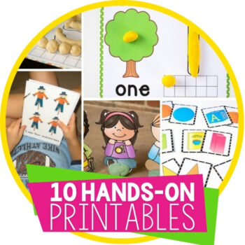 top free hands-on printables