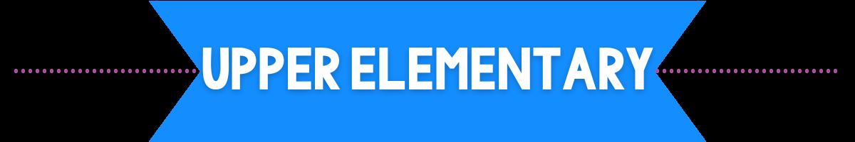 upper elementary banner