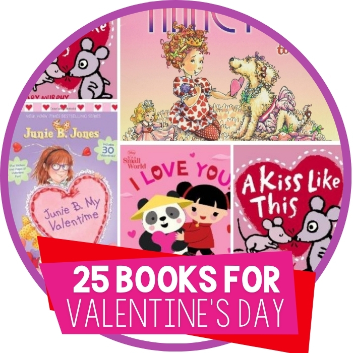 25 Valentine's Day Books Reluctant Readers Love