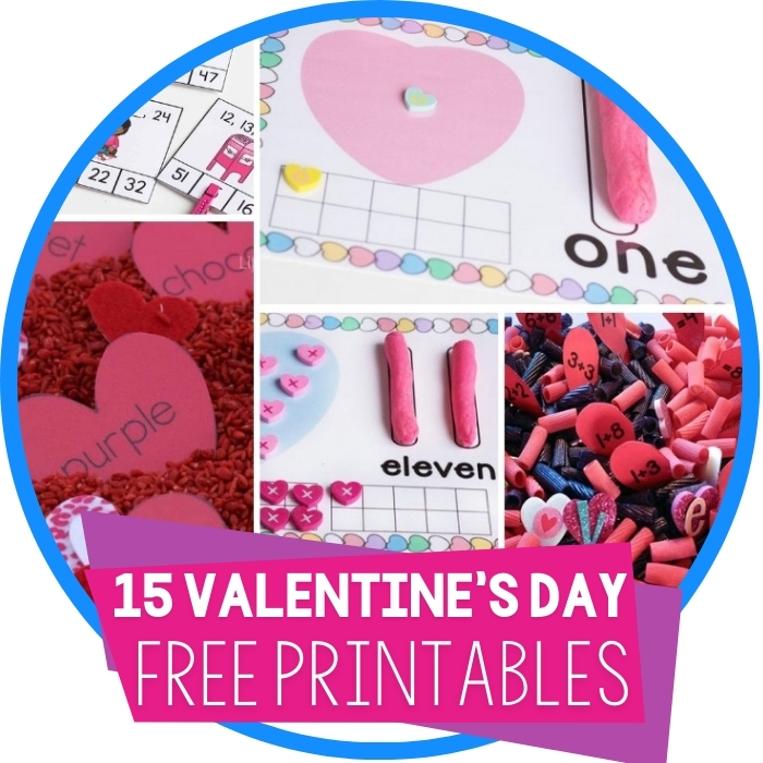 15 Free Valentine's Day Printables for Education