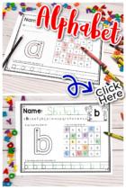 Free Lowercase Alphabet Worksheets